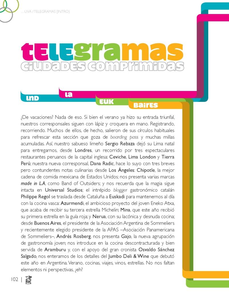 01 TELEGRAMAS - UVA 11