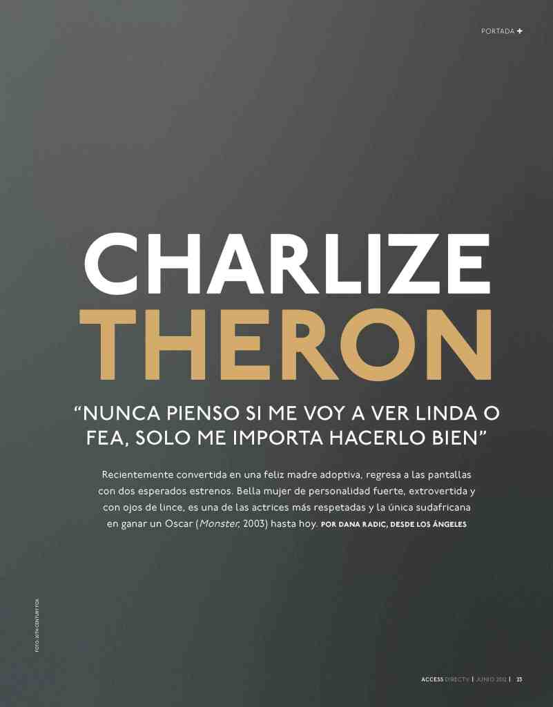 02 Charlize Theron - Access Magazine - Jun 2012