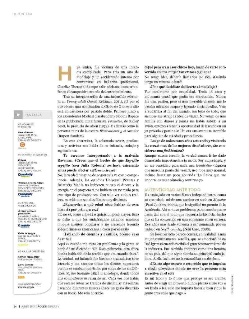 03 Charlize Theron - Access Magazine - Jun 2012