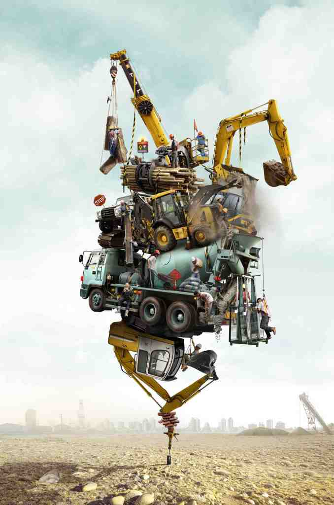 Land Rover construction baja