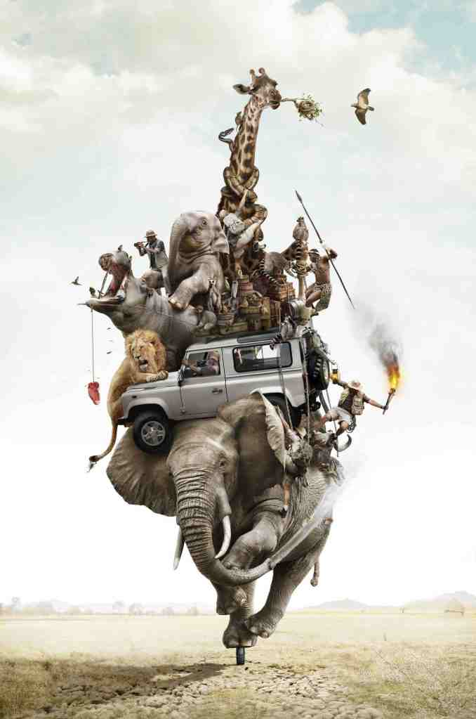 Land Rover elefante baja