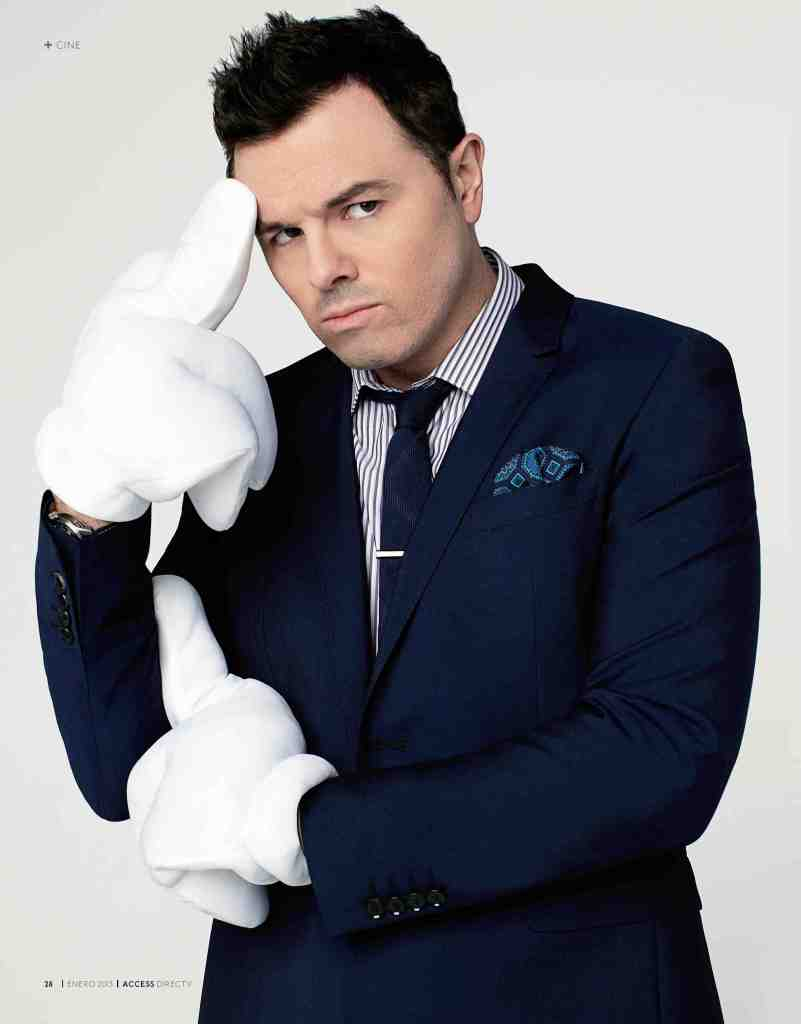 01 Seth MacFarlane - Access Magazine  - Jan 2013