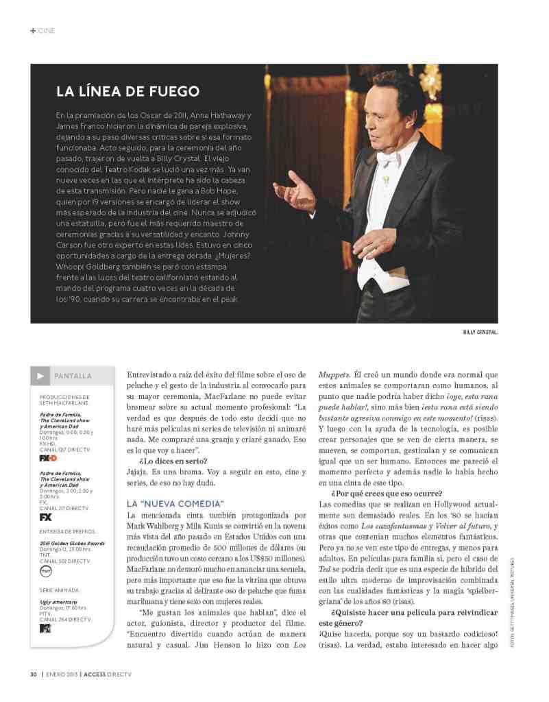 03 Seth MacFarlane - Access Magazine  - Jan 2013
