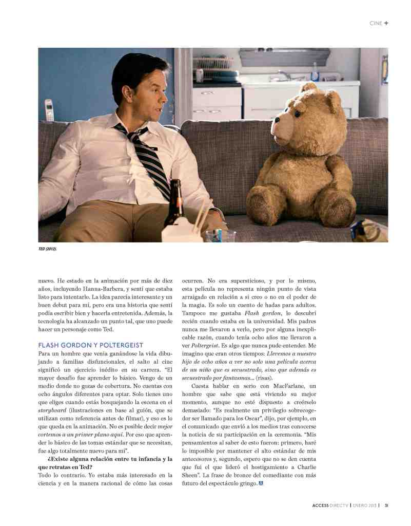 04 Seth MacFarlane - Access Magazine  - Jan 2013