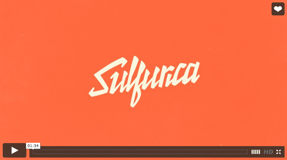 Sulfurica Motion Design | Reel 2014